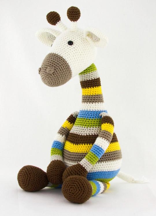 Anleitung Giraffe Gijs Stip Haak
