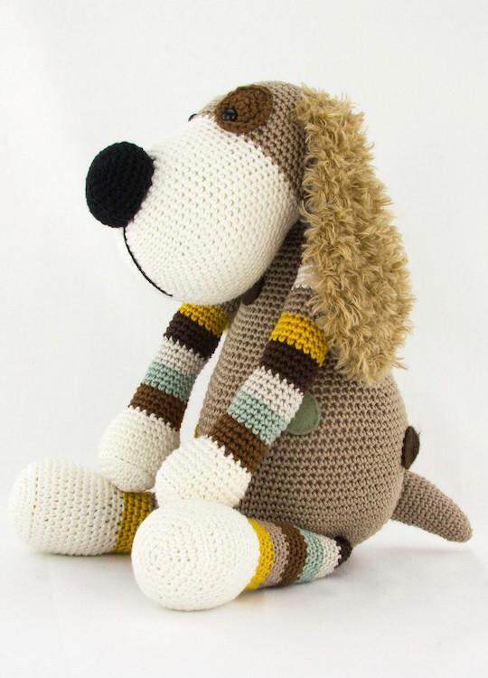 Haakpatroon Hond Boris Stip Haak