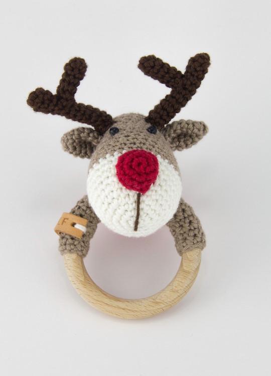 Pattern Rattle Reindeer Ralf Stip Haak
