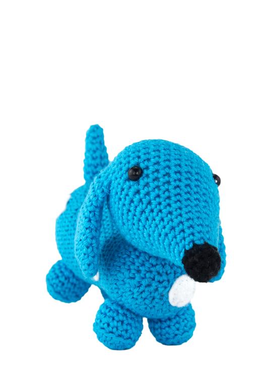 FREE PATTERN Crochet a Dachshund Pattern | Crochet, Dachshund ... | 750x540