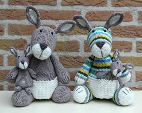 Pattern Kangaroo Jip Stip Haak