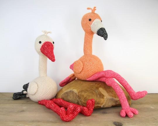 Anleitung Flamingo Fleur Stip Haak