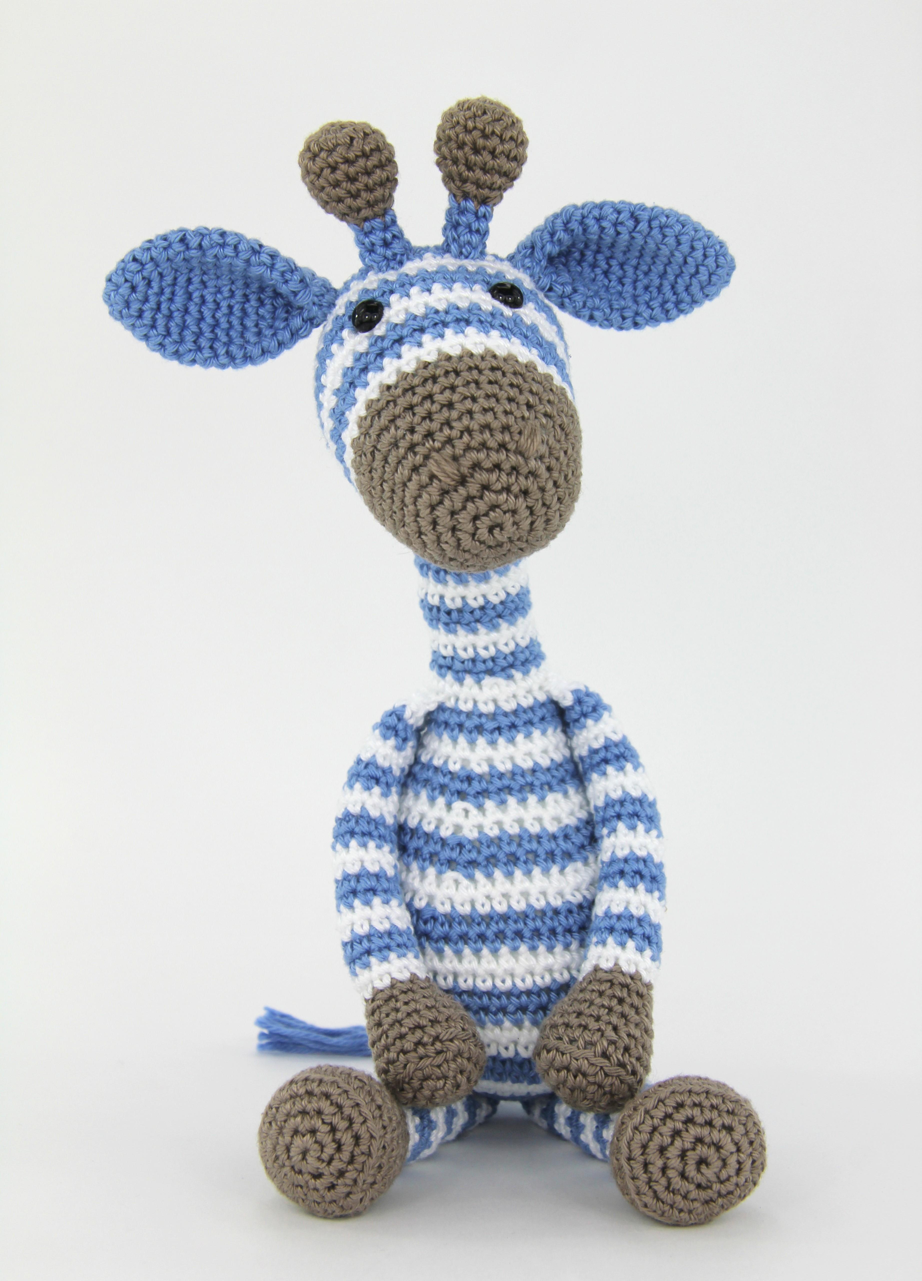 Haakpatroon Giraf Gijs Mini Stip Haak