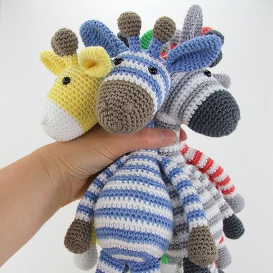 Pattern Giraffe Gijs Mini Stip Haak