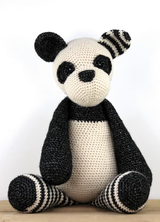 Haakpatroon Panda Pim Stip Haak